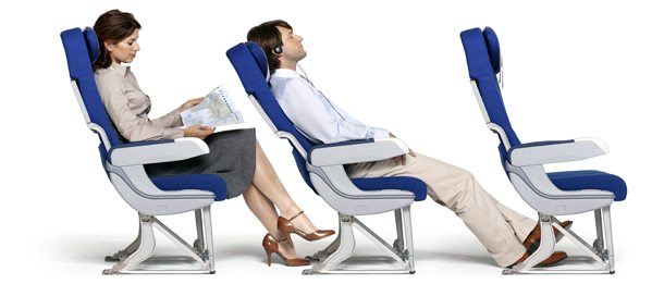 Air France Economy Comfort Chair