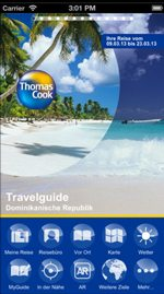 Reise-App Thomas Cook-Travelguide