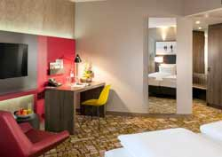 Zuerich: Dorint Airport Zimmer Junior-Suite