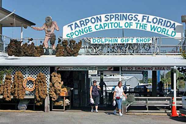 Tarpon Springs in Florida