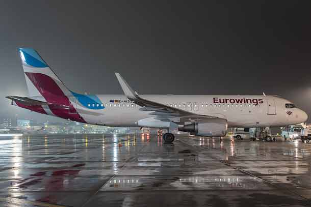 Eurowings startet am 1. Februar